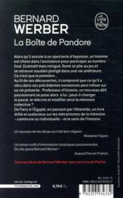 La boîte de Pandore - 4ème de couverture - Format classique