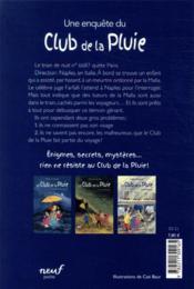 Le club de la pluie et le train de la peur - 4ème de couverture - Format classique