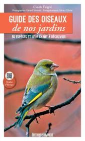 Guide des oiseaux de nos jardins - Couverture - Format classique