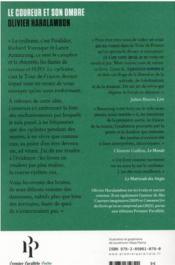 Le coureur et son ombre - 4ème de couverture - Format classique