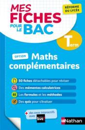 Mathématiques complémentaires : terminale (édition 2021) - Couverture - Format classique