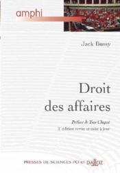 Droit des affaires - 2e ed. (2e édition) - Couverture - Format classique
