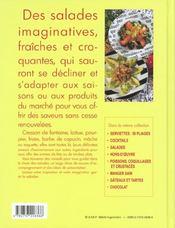 Salades - 4ème de couverture - Format classique