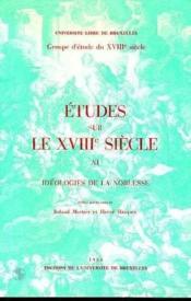 Ideologies De La Noblesse - Couverture - Format classique