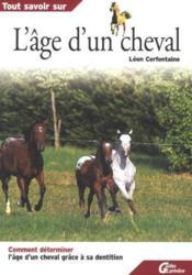 L'age d'un cheval - Couverture - Format classique