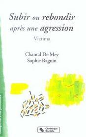 Subir Ou Rebondir Apres Une Agression - Victima - Intérieur - Format classique