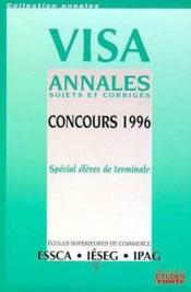 Visa ,Annales Des Concours 1996-1997 - Couverture - Format classique