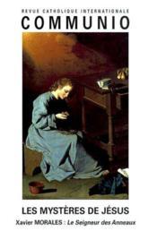 REVUE COMMUNIO N.160 ; les mystères de Jésus - Couverture - Format classique