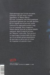 Nycthemere - 4ème de couverture - Format classique