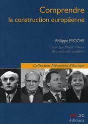 Comprendre la construction europénne - Intérieur - Format classique