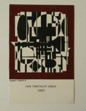 ANADYR-R. Nos meilleurs vœux 1987. - Couverture - Format classique