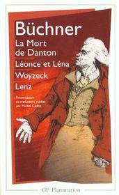 La Mort De Danton - Woyzek - Leonce Et Lena - Lenz - Intérieur - Format classique