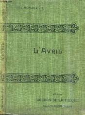 L'Avril. La Confession Posthume. - Couverture - Format classique