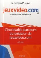Jeuxvideo.com ; une odyssée interactive - Couverture - Format classique