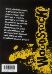 Woodstock T.3 - 4ème de couverture - Format classique