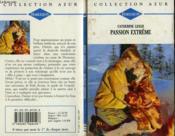 Passion Extreme - Beyond Riches - Couverture - Format classique