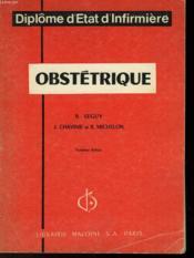 Obstetrique - Couverture - Format classique