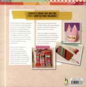 Washi tape ; 101 idées pour s'amuser avec le papier, les livres, la mode, la déco ...et pour faire la fête ! - 4ème de couverture - Format classique