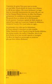 Retour à Béziers - 4ème de couverture - Format classique