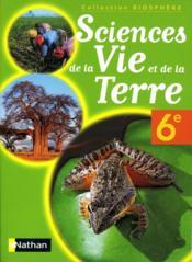 Sciences de la vie et de la terre ; 6e ; livre de l'élève ; Cameroun - Couverture - Format classique