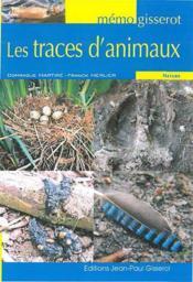 Les traces d'animaux - Couverture - Format classique