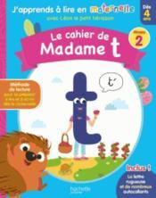 Le cahier de Madame t niv. 2 - Couverture - Format classique