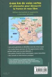 Nouvel atlas des plus belles voies vertes et véloroutes de France - 4ème de couverture - Format classique