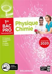 Physique - chimie ; 1re bac pro ; pochette élève (édition 2020) - Couverture - Format classique