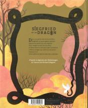 Siegfried et le dragon - 4ème de couverture - Format classique