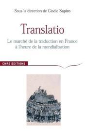 Translatio - Couverture - Format classique