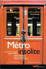 Metro insolite 2001 - Intérieur - Format classique