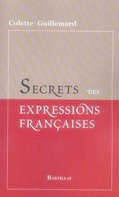 Secrets des expressions françaises - Intérieur - Format classique
