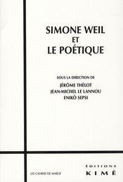 Simone Weil et le poétique - Intérieur - Format classique