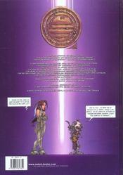 Tessa, agent intergalactique t.1 ; sideral killer - 4ème de couverture - Format classique