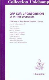 Cap Sur L'Agregation De Lettres Modernes - Intérieur - Format classique