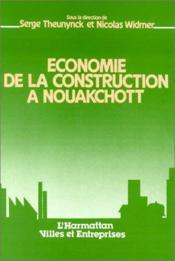 Economie De La Constructiona Nouakchott - Couverture - Format classique