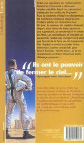 Les Gardiens D'Aleph-Deux - 4ème de couverture - Format classique