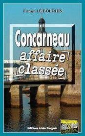 Concarneau, affaire classée - Couverture - Format classique