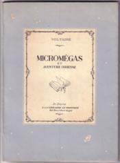 Micromégas et aventure indienne (illustré, 1946) - Couverture - Format classique