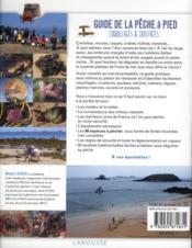Guide de la pêche à pied - 4ème de couverture - Format classique
