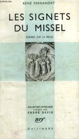 Les Signets Du Missel. Poemes Sur La Messe. Collection Catholique. - Couverture - Format classique