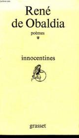 Innocentines. Poemes. - Couverture - Format classique