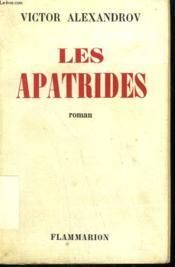 Les Apatrides. - Couverture - Format classique