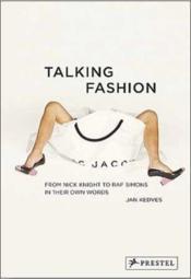 Talking fashion - Couverture - Format classique