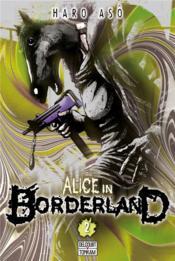 Alice in Borderland T.2 - Couverture - Format classique