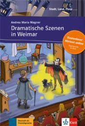 Dramatische szenen in Weimar - Couverture - Format classique
