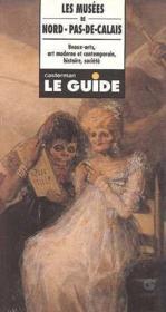 Les musees de nord-pas-de-calais beaux arts, art moderne et contemporain, histoire, societe - Couverture - Format classique