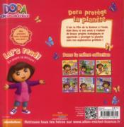 Dora protège la planète - 4ème de couverture - Format classique