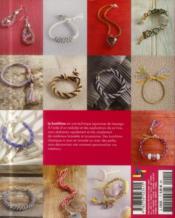 Le kumihimo ; 25 accessoires tendance ; bracelets, colliers, porte cléfs, ceinture - 4ème de couverture - Format classique