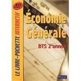 Economie generale ; bts ; 2e annee ; livre de l'eleve - Couverture - Format classique